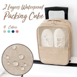 Two Layers Waterproof Packing Cube