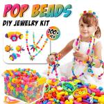 Pop Beads DIY Jewelry Making Kit