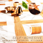 Self-Adhesive Baseboard Stripe Sticker