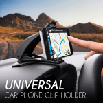 Universal Car Phone Clip Holder