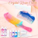 Crystal Resin Comb DIY Set