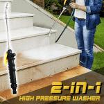 2-in-1 High Pressure Washer
