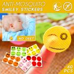 Anti-Mosquito Smiley Stickers (60 pcs)
