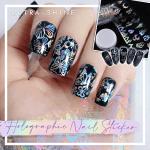 Ultra-shine Holographic Nail Sticker