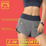 PlayUp Training Flex 2-in-1 Shorts