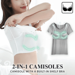 BraTee T-Shirt with Built-In Bra