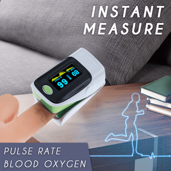 2 In 1 Flash-check Finger Pulse Oximeter