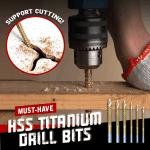 HSS Titanium Drill Bits