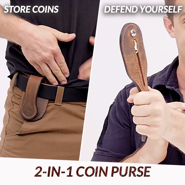 EDC Tool Self Defense Coin Purse