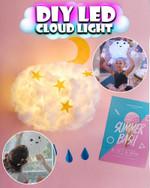 DIY Hanging Cloud LED Light Kit - LimeTrifle