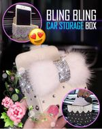 Bling Bling Car Storage Box - LimeTrifle