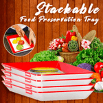 Stackable Food Preservation Tray - LimeTrifle