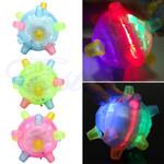 Pet LED Jumping Activation Ball - LimeTrifle