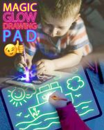 Magic Glow Drawing Pad - LimeTrifle