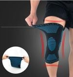 Premium Knee Brace Compression Sleeves - LimeTrifle