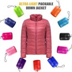 Ultra-Light Packable Down Jacket - LimeTrifle