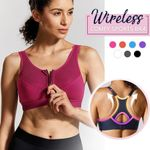 FitMe™ Wireless Sports Bra - LimeTrifle