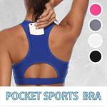 High Compact Pocket Sports Bra - LimeTrifle