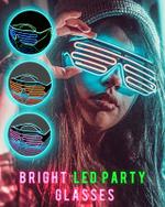 Luminous Party Glasses - LimeTrifle