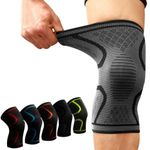 Compression Knee Sleeve - LimeTrifle