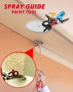 Spray Paint Guide Accessory Tool - LimeTrifle