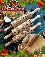 Christmas Rolling Pin - LimeTrifle
