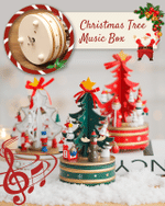 Christmas Tree Music Box - LimeTrifle