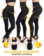 Hollywood High Waist Shaping Leggings - LimeTrifle
