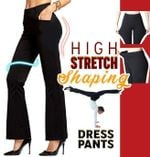 Ultra Elastic Dress Yoga Pants with Pockets - LimeTrifle