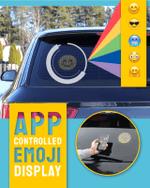 App-Controlled Emoji Car Display - LimeTrifle