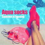 Unisex Quick Dry Aqua Socks - LimeTrifle