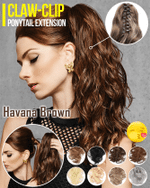 Claw-Clip Ponytail Extension - LimeTrifle