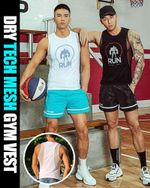 Dry Tech Mesh Gym Vest - LimeTrifle