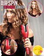 Air Spin Ceramic Curler - LimeTrifle