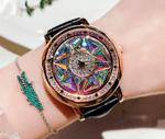 Star Aura Spinning Watch - LimeTrifle