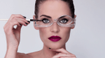 Rotatable Make Up Glasses