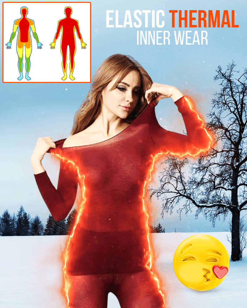 Elastic Seamless Thermal Inner Wear - LimeTrifle