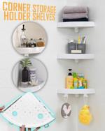 Corner Storage Holder Shelves - LimeTrifle