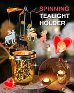 Spinning Tealight Holder - LimeTrifle