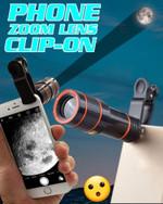Phone Clip-on Zoom Lens - LimeTrifle