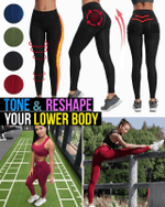 Anti-Cellulite Active Compression Leggings - LimeTrifle