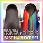 Reusable & Washable Fast Hair Dye Set - LimeTrifle