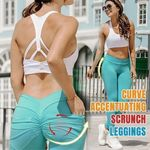 Hip Lifting Curve Accentuating Scrunch Leggings - LimeTrifle