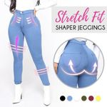 Stretch Fit Shaper Jeggings - LimeTrifle