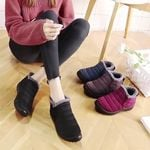 Women Waterproof Slip-On Winter Boots - LimeTrifle