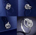 Romantic Spinning Ring - LimeTrifle