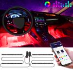Car Interior LED Mood Strip Lights - LimeTrifle