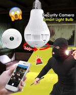 Security Camera Smart Light Bulb - LimeTrifle