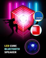 LED Cube Bluetooth Speakers - LimeTrifle