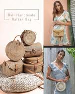 Bali Handmade Rattan Bag - LimeTrifle